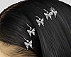 Buttefly Hair rings
