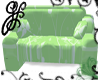 GF-Green Floral Loveseat