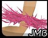 [JMB]Pink Wrist Feathers