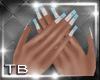 [TB] Sheri Blue Nails