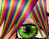 Rainbow spike hair