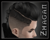 [Z] BKE Hair black