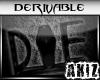 ]Akiz[ DIE Stool
