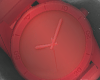 Red Plastic Watch