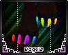 .B. Ray rainbow paws