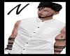 N White Sleeveless Shirt