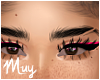m. Nylah brow dark slit