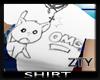 [ZTY] T-Shirt CatOMG