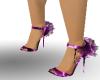 purple lightning shoes