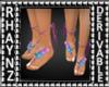 Childs Adorned Flat Feet