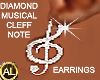 DIAMOND CLEFF EARRINGS