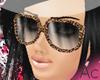 ~Ac~ Leopard Glasses