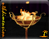 Flaming Gold Brazier