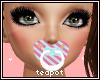 T| Cotton Candy Binky
