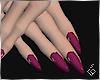 S. Purple Nails