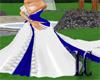 LC~ Blue Satin Wedding