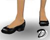 Economy Low heels (blk)