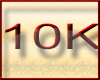 ! 10K Support Sticker