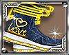 Geo *W* Love Sneakers