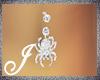 [J] Belly ring Spider