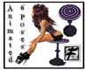 ~F~ Purp Photopose Stool