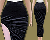 Velvet Slash Skirt