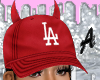 fitted red