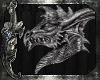 *E*3D Dragon Wall Statue