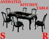 ANI. BLK/SILVER TABLE