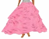 Pink Print Lolita Skirt