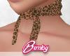 Leopard Neck Bandana