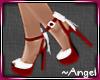 »A« Santa Heels w/ Bow