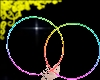 Rave hoops: rainbow m/f