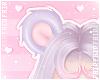 F. GummyBear Ears Lilac