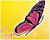 Pink Butterflies x