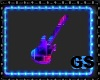 """GS"" NEON GUITAR TABLE"