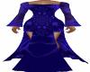 Blue LP Long Dress