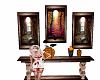 halloween table n pics