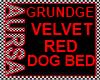 (1A)RedVelvetDogBed