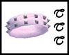 TTT Spiked Cuff ~ Pink