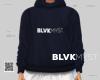 THE LAUNCH HOODIE NAVY F