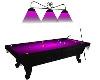 (TY) Purple Pool Table