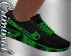 Matrix Green Shoes