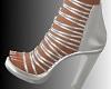 JS Silver Strap Heels
