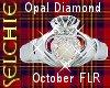 !!S Opal Claddagh LRF