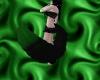Blk&Green Neko Tail