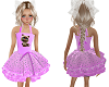 Kids Pink Kitten Dress