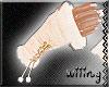 [W] Fur Gloves Cream