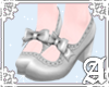 Rosalie Shoes~ Silver