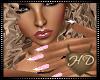 HD Pink Formal Nails